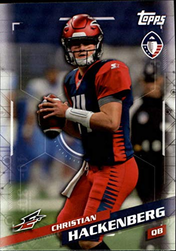 2019 Topps Alliance of American Football #25 Christian Hackenberg Memphis Express Official AAF Trading Card