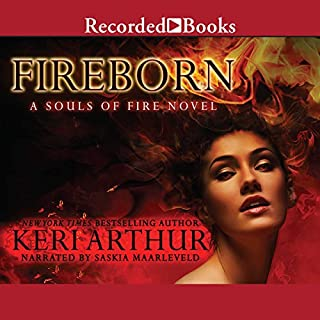 Fireborn audiobook cover art