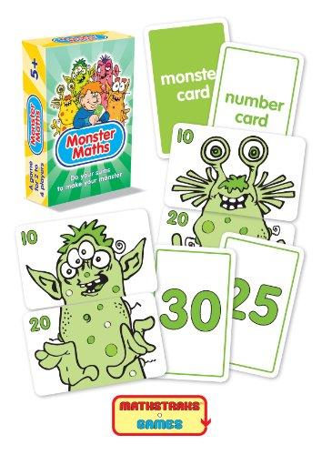 Monster Mathe rechnen kartenspiel