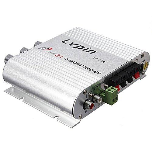 LVPIN 12V 200W Mini Salut-Fi Amplificateur stereo MP3 Car Radio Canaux 2 Maison Super Bass Mini Amplificateur