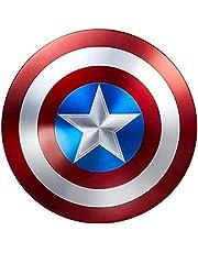 Capitan America Scudo Supereroe Scudo Captain America Shield all Metal 1:1 Movie Edition Avengers Palmare Puntelli Decorazione Modello