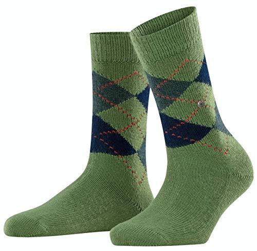 Burlington Damen Whitby SO Socken, 103 DEN, grün (Pesto 7165), Einheitsgröße (DE 36-41)