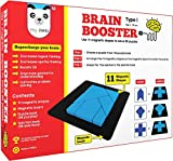 Solve 56 puzzles designed to challenge the brain. Both, kids and parents will find Brain Booster very engaging. The whole family can come together to solve the puzzles and see who can solve the puzzles the fastest. Brain Booster puzzles supercharge t...