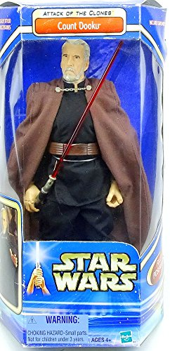 '12/30cm Action Figure for Auspacker Count Dooku Star Wars Saga Collection 2003Hasbro