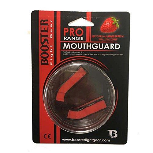 Booster Mundschutz, MGB, Erdbeer Geschmack, Mouth Guard, Zahnschutz, MMA, Case