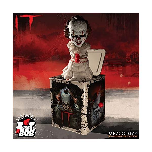 IT Pennywise Mezco Toyz Burst a Box Standard 2