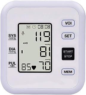 LMEIL Monitor automático preciso de la presión Arterial del Brazo Superior, Kit de Brazalete de medidor de monitorización de frecuencia cardíaca Comfort Digital BP
