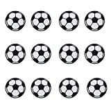 Toppa termoadesiva, a forma di pallone da calcio, per bambini, applique per progetti fai d...