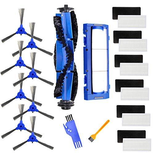 SDFIOSDOI Piezas de aspiradora Cepillos Laterales de Filtro de reemplazo Cepillo Principal Filtro HEPA FIT para EUFY ROBOVAC 11S 30 ER Accesorios