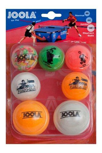 JOOLA Tischtennis-Bälle Set 3/2/2, bunt