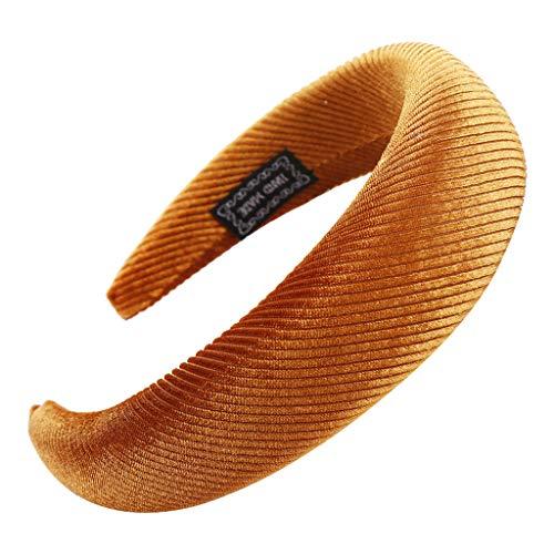 Yvelands Damen Mode Stirnbänder Breit Haarbänder Haarreif Verknotet mit Punkte Muster und Knoten Haarschmuck Stirnband Retro Style Haarband Mädchen süß hochwerige Headband Kopfband