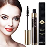 Double Extension & Waterproof Mascara, Nature Thick and Lengthening Mascara, Long Lasting, No Flake, Smudge-proof, Clump-free, Black Mascara, 0.35 fl oz