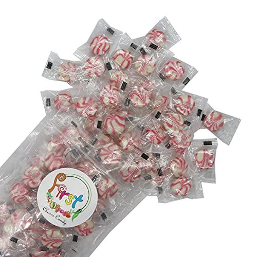 FirstChoiceCandy Super Cream Swirls Hard Candy (Strawberry Shortcake, 2 Pound)