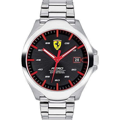 Scuderia di Ferrari Orologio Solo Tempo Uomo in acciaio