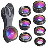 Apexel 7 in 1 Phone Lens Kit - Transform Your Phone into A