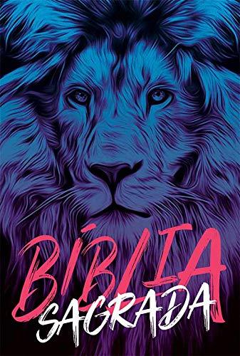 Bíblia NAA Leão azul: Nova Almeida Atualizada