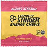 Honey Stinger Organic Energy Chews, Cherry Blossom, 1.8 Ounce (Pack of 12)