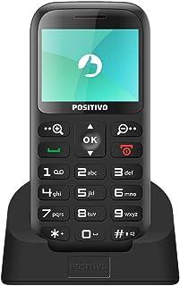 Celulares Básicos Feature Phone P65, Positivo, 11122524, 32MB, 1.8, Preto