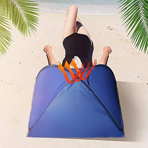 Buding Sonnenschutz Kopf Strand, Sonnenbaden Strandzelt Pop Up Strandzelt Shelter Für Gesicht Sonnenschutz, Baby Strandzelt Ideal Für Pool Und Strand • Bequemer Sonnenbaden