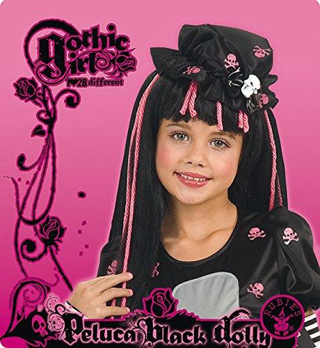 Rubie's-déguisement officiel - Disney- Déguisement Perruque Black Dolly- I-52559