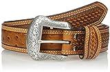 Nocona Belt Co. Men's Cognac Ostrich, 34