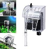 lzndeal - Filtro per serbatoio dell'acqua, sistema di circolazione della purificazione dell'acqua, alimentazione esterna, filtro serbatoio dell'acqua di circolazione