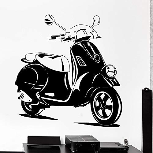 Tianpengyuanshuai Vinyl Decal Scooter Bike Ride Home Decoratie Behang