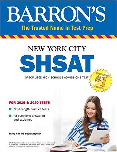 SHSAT: New York City Specialized High Schools Admissions Test (Barron's Test Prep)