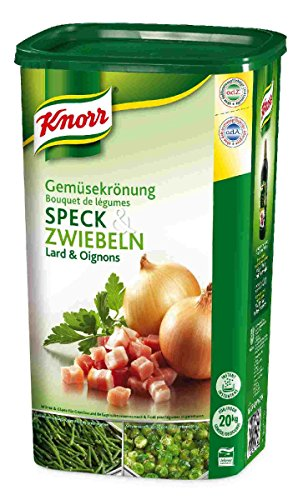 Knorr Gemüsekröung Speck und Zwiebeln 1 kg, 1er Pack (1 x 1 kg)