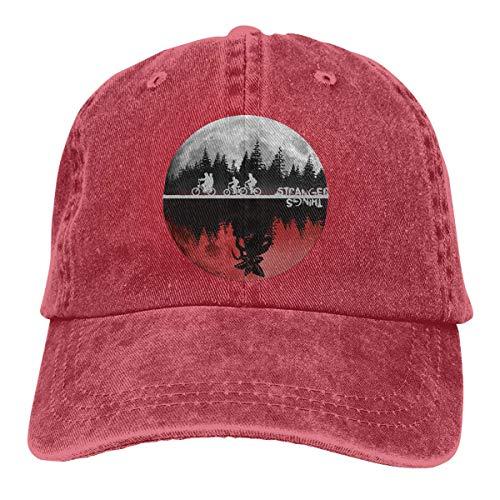 MERCHA Stranger Things Dad Hat Adjustable Denim Hat Classic