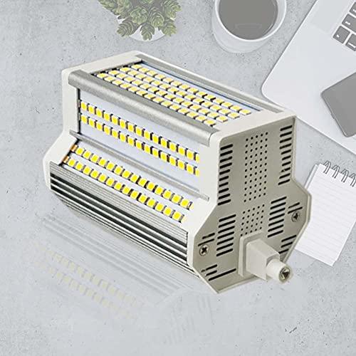 R7S LED 118mm Bombilla 50w SMD 2835 Blanco frío 6000K Equivalente 500W Reemplazo Lámpara de Reflector halógeno Regulable de Doble Extremo