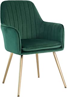 Five Stars Furniture Velvet Dining Chair,Accent Chair,...