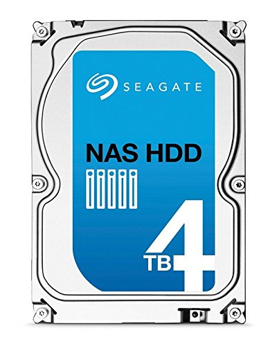 (Old Model) Seagate 4TB NAS HDD SATA 64MB Cache 3.5-Inch Internal Bare Drive (ST4000VN000)