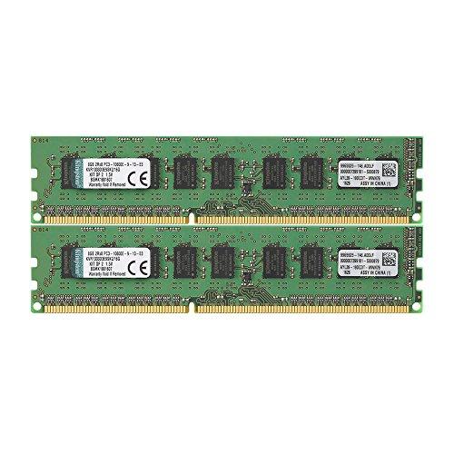 Kingston KVR1333D3E9SK2/16G DDR3-1333 16GB(2X 8GB) 1Gx72 ECC CL9 Server Memory Kit