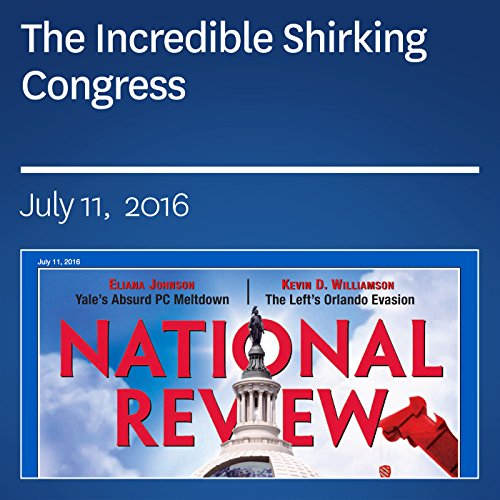 The Incredible Shirking Congress audiobook cover art