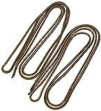 Danner Laces 72' Shoelaces, Black/Tan, Medium