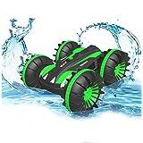 Pussan Toy Gifts 5~10歳 男の子 水陸両用 リモコンカー 子供用 2.4GHz RC スタントカー 男の子 女の子 4WD オフロード モンスタートラック クリスマス 誕生日ギフト リモコン ボート ビーチ おもちゃ