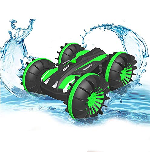 PUZ Toy Presents for 6-10 Year Old Boys Amphibious Remote Control Car for...