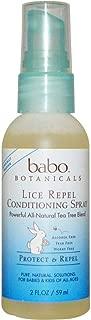 Babo Botanicals, Lice Repel Conditioning Spray, 2 fl oz (59 ml)