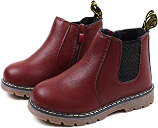 XuBa Autumn Winter Non Slip Baby Boots Martain Boots Low Tube Boots Kids Shoes Snow Boots