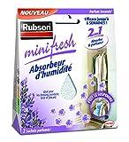 Rubson 1940377 Bolsa de absorción de humedad Minifresh 2 piezas 50g Lavender, Blanco
