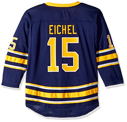 Outerstuff Youth NHL Replica Home-Team Jersey Buffalo Sabres, Jack Eichel, Large (12-14)
