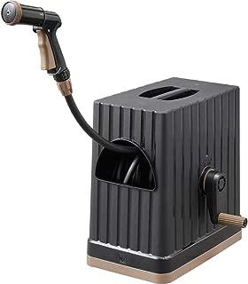 アイリスオーヤマ ホース リール FHEXN-30 ブラック 水やり 洗車 掃除 巻き取りやすい