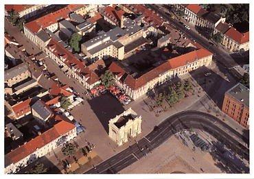 Postkarte Potsdam, Brandenburger Tor