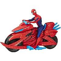Spiderman - Spiderman with Cycle, multicolor (Hasbro E3368)