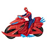 Hasbro Marvel E3368EU4 SPD Spiderman with Cycle, Multicolour