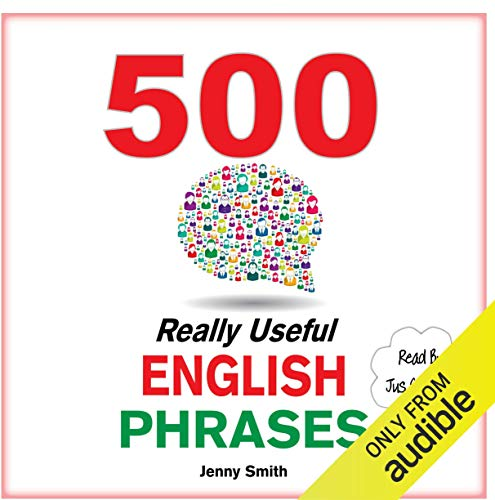 500 Really Useful English Phrases audiobook cover art