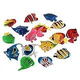 HaiMa Falso Fish Fish Tank Decoración Plástico Artificial Tropical