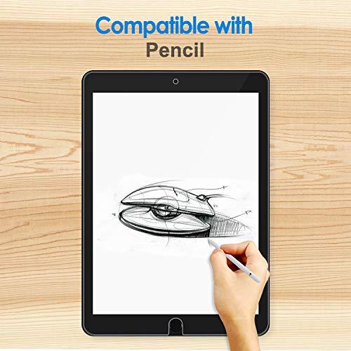 JETech Panzerglas Kompatibel mit iPad Air 3 (10,5 Zoll Modell 2019) und iPad Pro 10,5 (2017), Gehärtetem Glas Displayschutzfolie, 2 Stücke