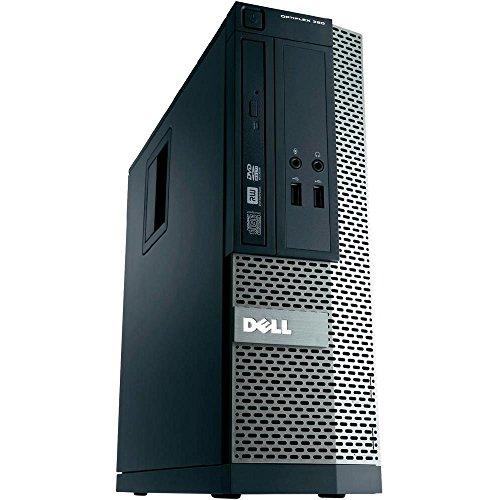Dell Optiplex 390 Sff 2ª Generación Core I3-2120 250 GB Hdmi DVD De Windows 10 Professional Pc De Escritorio del Ordenador (Renovado)